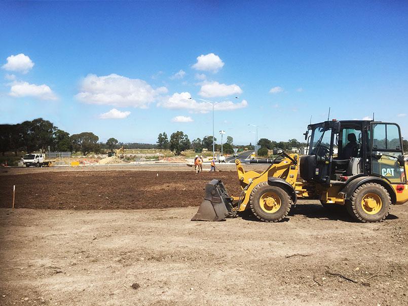 Abbotts RoaAbbotts Road landscape projectd landscape maintenance
