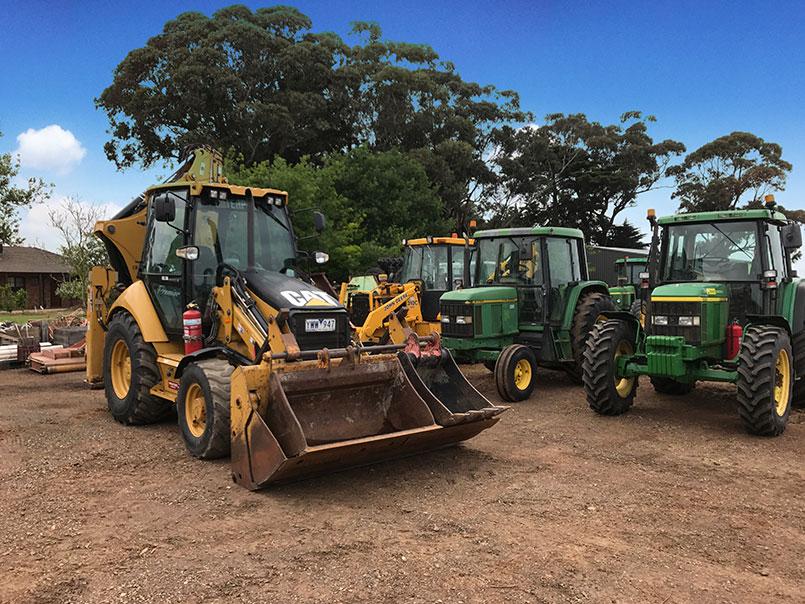 Abbotts Road machinery