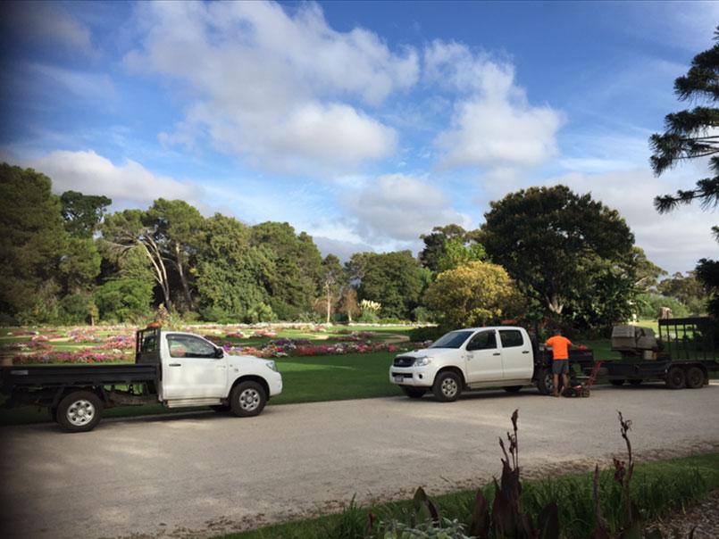 Werribee park garden maintenance