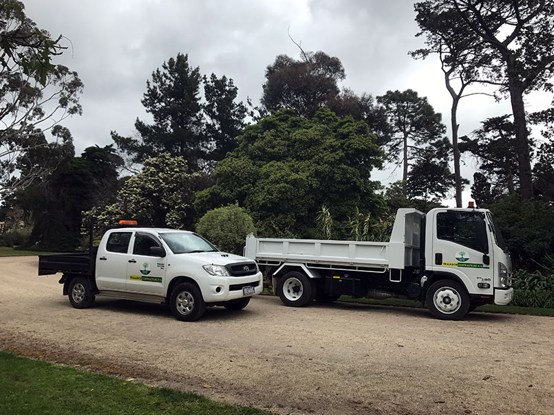 Werribee park maintenance